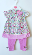 Baby Girls Mini Moi Floral Bow Summer Dress Set 0-3 months up to 18-24 months