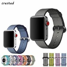 CRESTED woven Nylon band For Apple Watch bracelet belt fabric nylon watchband