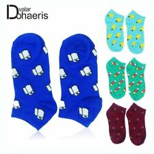 Women Happy Socks Cute Candy Cotton Sock Summer Style Printed Socks Thin Lady