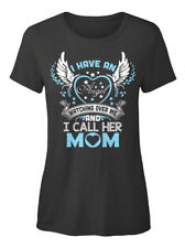 Fun Best Mom T - I Have An Angel Watching Over Me And T-shirt Élégant pour Femme