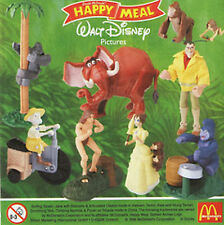 McDonalds Happy Meal toys Tarzan collection Terk Drummer Tantor soft baboons