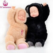 Sleeping Baby Plush Doll Stuffed Soft Toy Interactive Educational Gift Unisex