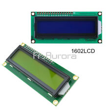1602LCD Blue/Yellow HD44780 Character Display Module 5V for Arduino Raspberry Pi