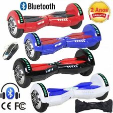 "6,5"" LED E-Scooter Eléctrico Patinete Self Balancing Hoverboard Bluetooth CH"