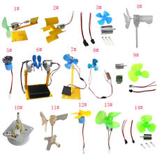 Water Wind Generator Kits Micro DC Motor Wind Turbines Alternator DIY Assembling