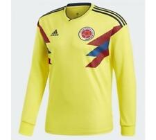 adidas 2018 World Cup Colombia Men's Home Jersey LS BR3511 1805