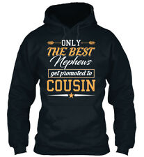 Only The Best Nephews Get Promoted To Co Sweat à Capuche Confortable