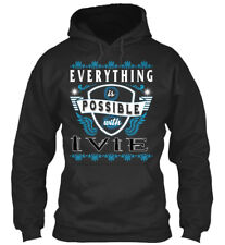 Everything Possible With Ivie Sweat à Capuche Confortable