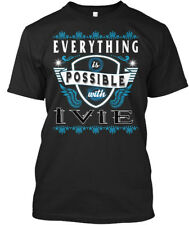 Everything Possible With Ivie T-shirt Élégant