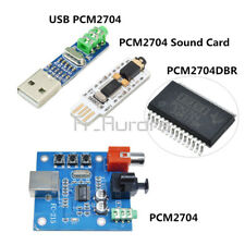 5V USB Powered PCM2704 3.5mm DAC to S/PDIF Mini USB Sound Card Decoder Board