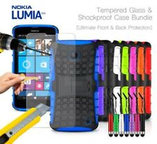 NOKIA LUMIA 630 - Anti-urto Custodia rigida, Mini penna & VETRO TEMPERATO