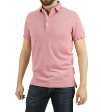 Tommy Hilfiger - Polo Oxford rojo Hombre chico