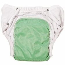 Reusable Washable Incontinence Adult Diaper Briefs with Snaps