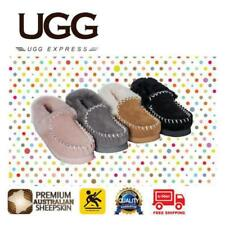 UGG Kids / Children / Youth Sheepskin Moccasins/Slippers, Warm & comfy, Non-slip