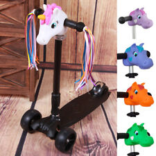 6A86B07 Lovely Dragon Pony Shaped T-Bar Head Cover For Skateboard Scooter Bikes