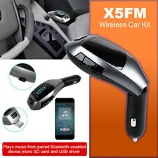 Wireless Bluetooth Car MP3 Player Radio FM Transmitter LCD SD USB Charger UK ua