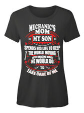 One-of-a-kind Mechanics Mom - Mechanic's My Son T-shirt Élégant pour Femme