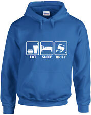 EAT SLEEP DRIFT , Drifting Sudadera Con Capucha Con Estampado Inspirado