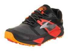 Brooks Cascadia 12 GTX Mens Trail Running Shoes, Blk/Ebny/Chrry Tmto, RRP 130GBP