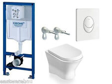 Concealed Cistern Grohe / Roca Nexo COMPLETE SET WC Wall + Bidet Without Flush