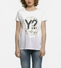 YNOT? COLLECTION  Damenshirt T-Shirt  Bianco