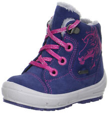 Superfit Groovy Fille Bottes d'HIVER Boot Bottes 1-00312 88 Violet/CHEVAL NEUF