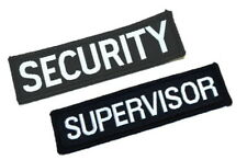 Woven Identification Badges Security / Supervisor