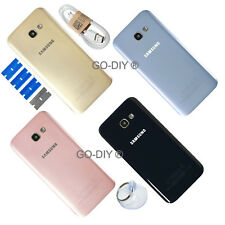 New Samsung Galaxy A3/ A5/ A7 2017 Rear Glass Back Battery Cover + CAMERA LENS