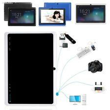 6E9AF37 7'' inch Android Quad Core WiFi Dual Camera Mic 512M+8GB OTG Tablet PC