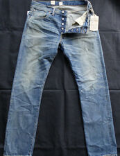 """Ralph Lauren RRL DOUBLE RL JEANS """"LOW STRAIGHT"""" MADE in USA"""