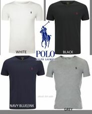 Men's Ralph Lauren Cotton Short Sleeve Polo T-shirt:  Size:S,M,L,XL,XXL