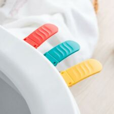 A4A5533 Toilet Lid Clamshell Handle Device ABS Practical Foldable High Quality