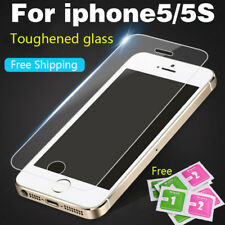 Tempered Glass For iPhone 4S 5 5S SE 6 6S 7 8 Plus Screen Protector Film Cases