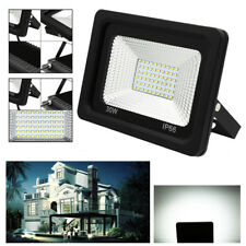 1-10X 30W Foco LED Foco proyector Blanco frío Lámpara Exterior Floodlight IP65