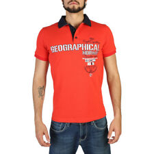 Polo Uomo Geographical Norway Kilitary_man_28 Cotone red,darkblue NEW