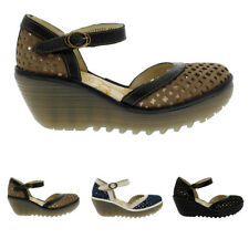 Ladies Fly London Yadu Cupid Rug Strappy Casual Wedges Holiday Sandals All Sizes