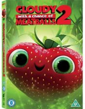 Cloudy With a Chance Of Meatballs 2 DVD NUOVO DVD (cdrb1397r)
