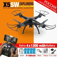 Syma X5SW X5SW-1 FPV RC Quadcopter RC Drone with Wifi Camera 2.4G 6-Axis Drones