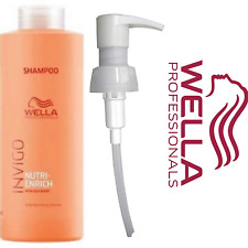 WELLA Nutri Enrich Invigo Shampoo/Conditioner 1000ml | All Hair Types