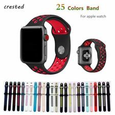 Silicone strap for apple watch 42 mm 38 mm bracelet sport wrist BAND