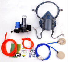 Safety Paint Spray Air Fed Respirator System 7502 Half Face Gas Mask Respirator