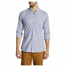 Lands'End homme rayures bleues Chemise popeline, Taille S - XL
