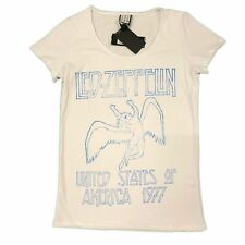 Led Zeppelin USA Tour Amplified Ladies Official T Shirt Brand New Various Sizes