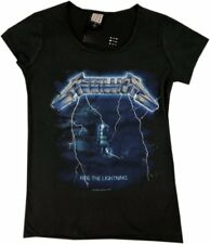 Metallica Ride The Lightning Amplified Ladies Official T Shirt Brand New Various
