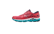 Mizuno Wave Sky Running Shoes (SS18) - Womens - Pink/Silver/Blue