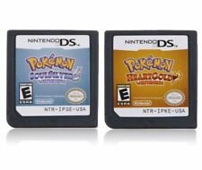 Game Cartridges Pokemon: HeartGold,SoulSilver Version for Nintendo NDSI,nds,3ds
