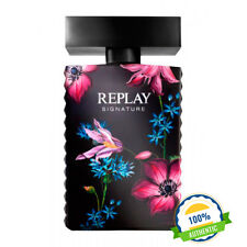 Replay Signature for Woman  Eau de toilette 100ml Natural Spray EDT Mujer
