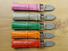 New 19mm Genuine Leather Replacement Watch Strap For Franck Muller Watch