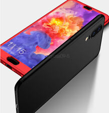 For Huawei P20 Pro/Lite 360° Full Protective Hybrid Case + Tempered Glass Cover