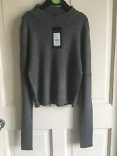 BNWT New Look Grey Cropped Jumper. Girls. Age 9-15 Years. Funky.